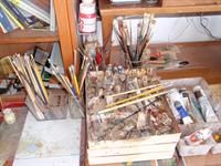 Benny's Workspace As He Left It, 2011